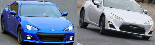 Image: Scion FR-S and Subaru BRZ