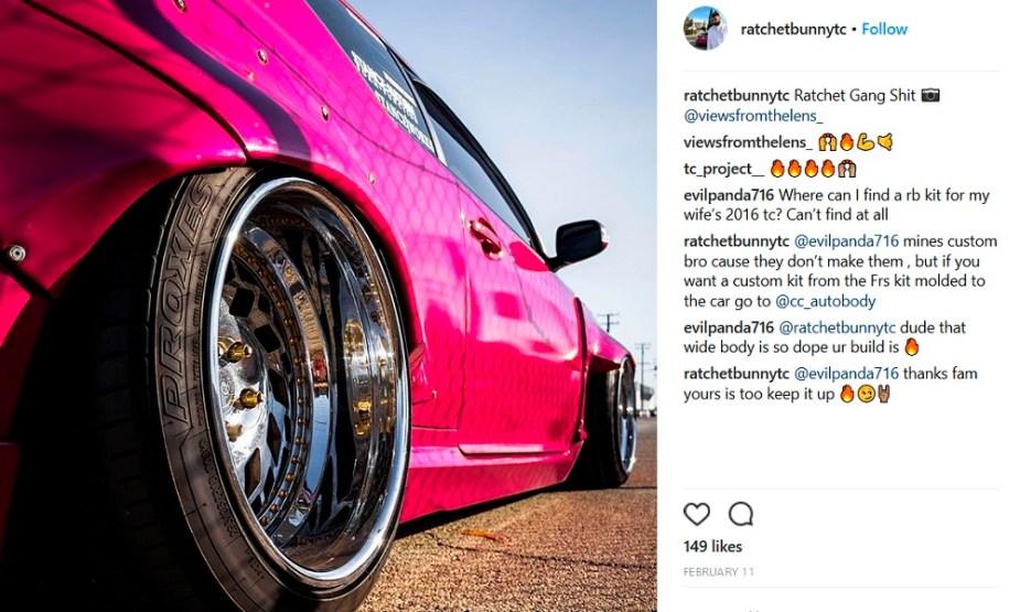 Scionlife.com Instagram Account of the Week #2 ratchetbunnytc