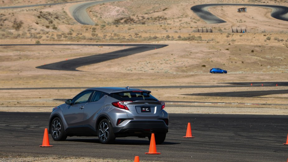 ScionLife.com Toyota C-HR Track Test Review