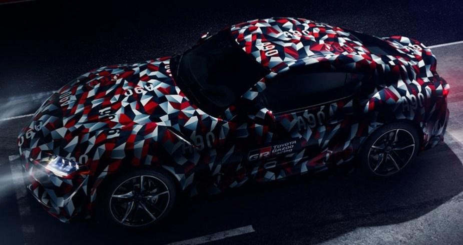 Scionlife.com Toyota Supra A90 2019 2020 Goodwood Festival of Speed