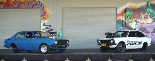 KE55 Toyota Corolla Burnout Hoonigan ScionLife.com