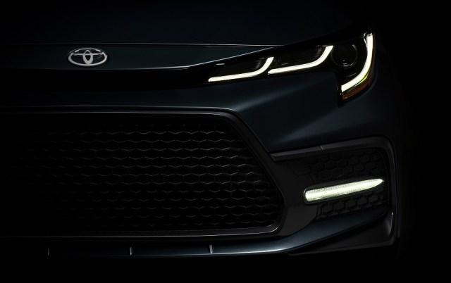 2020 Toyota Corolla Teaser