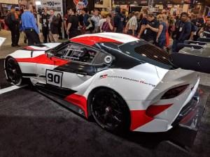 Toyota Gazoo Supra Concept SEMA 2018