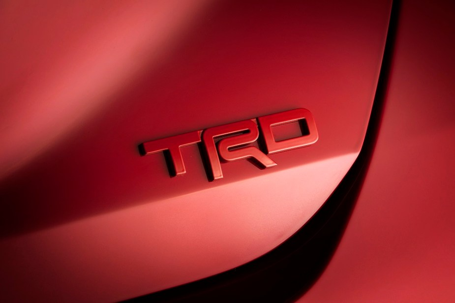 TRD Avalon and Camry Upgrades Package