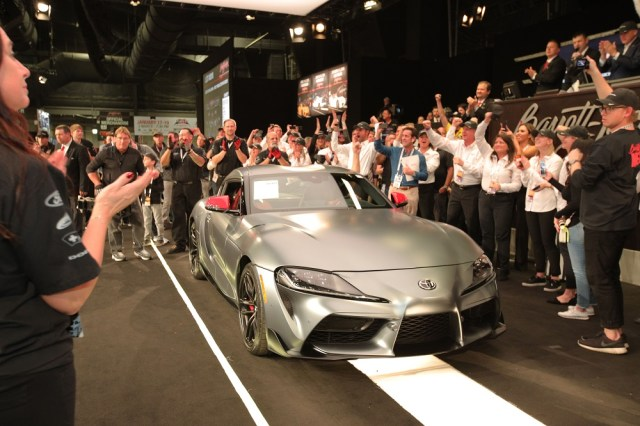 2020 Toyota GR Supra $2.1 Million Barrett-Jackson Scottsdale Auction News