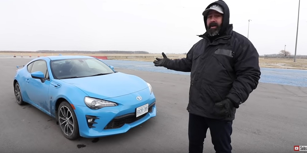 Toyota 86 Automatic Track Test Speed Academy