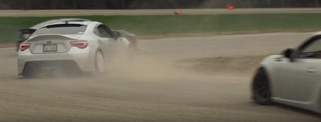 Toyota 86 Subaru BRZ Drifting USAir Motorsports Park