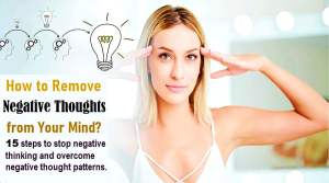 How to Remove Negative Thoughts
