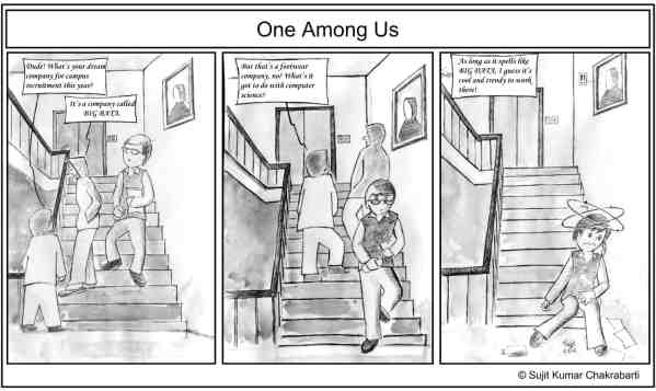One Among Us - March 2016