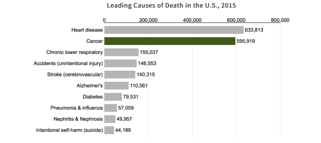 Cancer Versus Other Causes Of Death In USA