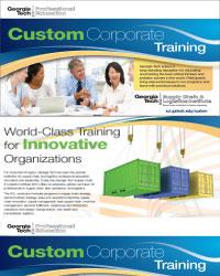 Custom Training Programs Georgia Tech Supply Chain And Logistics Institute
