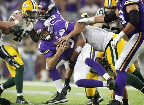 Image result for sam bradford sack