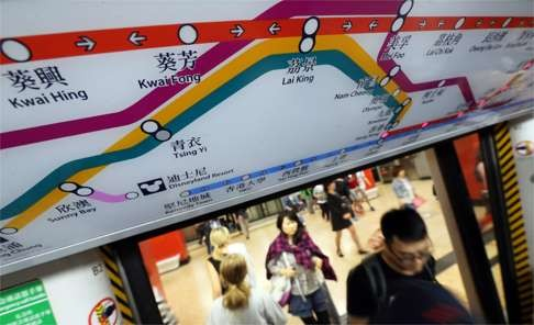 The MTR system carries more than five million passengers every day. Photo: Felix Wong