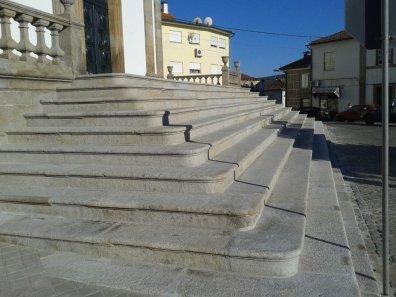 Recuperação da Escadaria Principal da Igreja 11