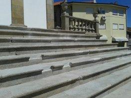 Recuperação da Escadaria Principal da Igreja 6