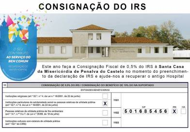 Doe 0,5% do IRS