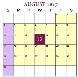 August 13, 1817