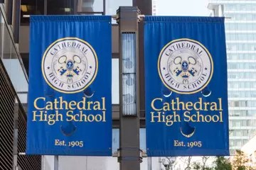 Cathedral High School founded in 1905 by the Sisters of Charity