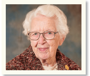 Getting to Know You: Sister Miriam Anne Brennan, SC