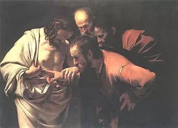 Caravaggio Incredulity of St. Thomas