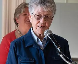 Sister Margaret Egan, SC, Honored by CMSV Teacher Education Department