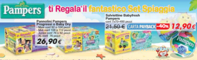 Pampers e Carrefour