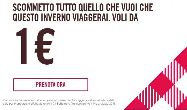 Volotea – prendi il tuo volo a partire da 1 euro!
