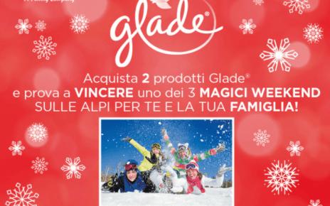 glade concorso weekend Alpi