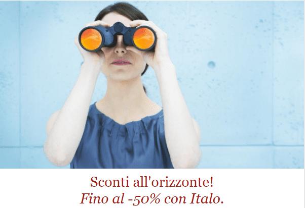 Italo: sconti all'orizzonte! Fino al -50%