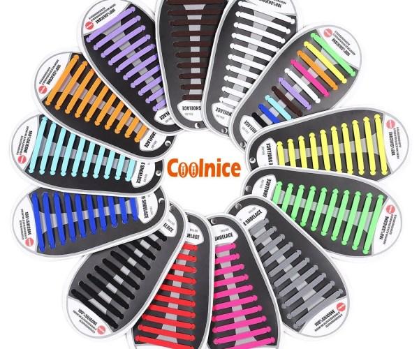 coolnice lacci in silicone colori assortimento