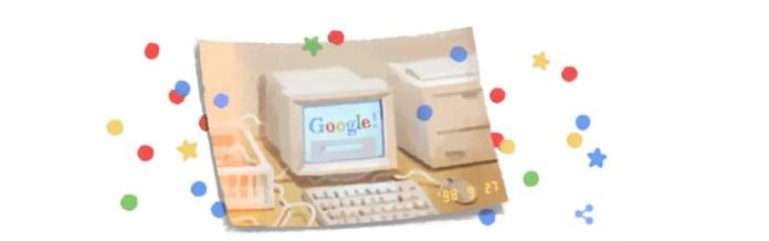 Buon compleanno Google
