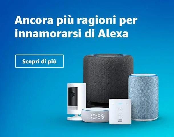 Amazon presenta la nuova famiglia Echo. Ecco i nuovi dispositivi