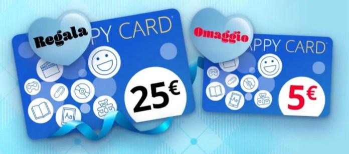IBS: Happy Card da 5€ in regalo con 25€ di acquisti