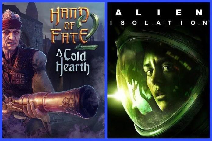 Alien Isolation e Hand of Fate 2 GRATIS per PC sull'Epic Games Store sino al 29 aprile 2021