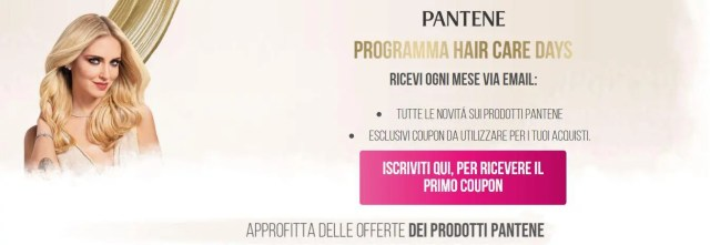Programma Pantene Hair Care
