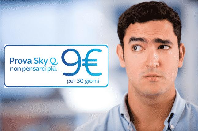 Prova Sky Q - Errore 203 e anomalia