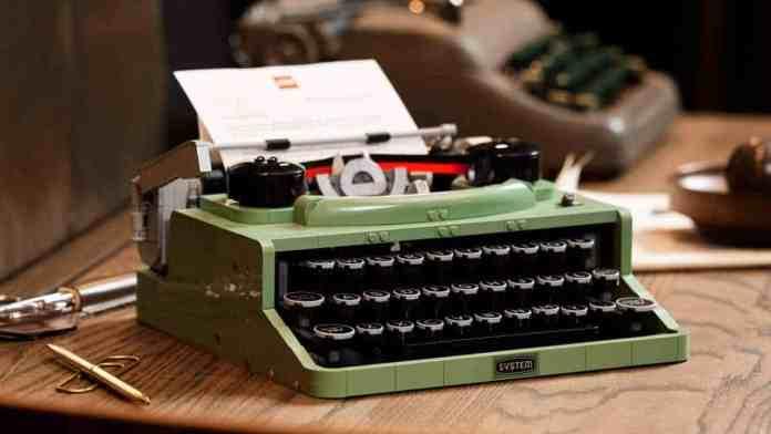 LEGO Ideas Macchina da scrivere #21327