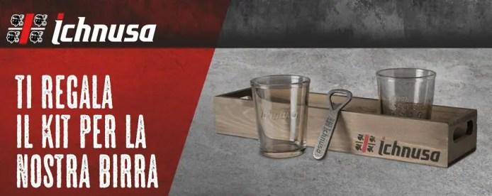 Concorso birra Ichnusa: acquista 9 euro di birra e ottieni il kit Anima Sarda