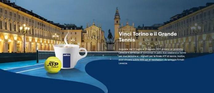 Concorso Lavazza: Vinci Torino e il grande tennis