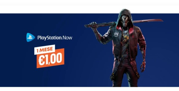Playstation Now a solo 1 euro