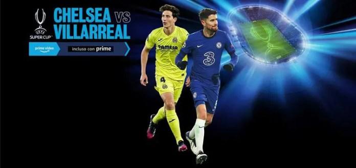 Supercoppa Europea: promosso a pieno voti il primo streaming di Amazon Prime Video