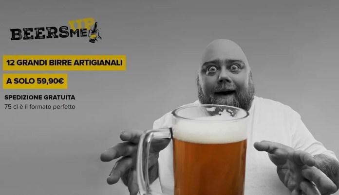 BeersMeUp: 12 birre artigianali a 59,90€ e spedizione gratuita