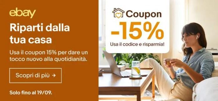 Rinnova l'arredo della tua casa con il codice ebay