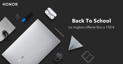 Honor: offerte -150€ per il Back To School