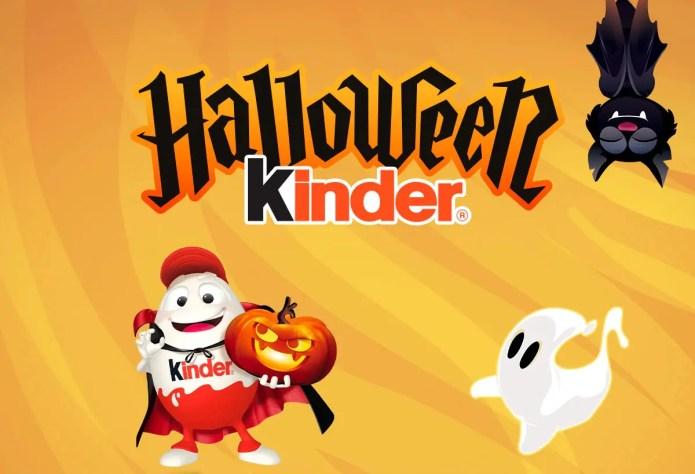 Kinder Halloween 2021, il concorso che ti premia con forniture Kinder e Ferrero