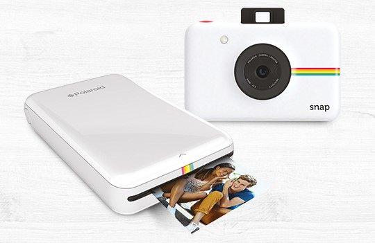 """fotocamera Snap stampante Zip Polaroid Concorso Entremont Condividi con gusto: vinci fotocamere e stampanti Polaroid, Set """"Cheese party"""" + 24 stampe foto come premio certo"""