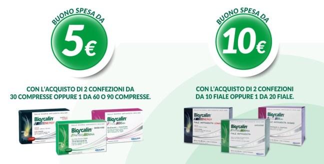 %name Acquista Bioscalin e ricevi un buono spesa da 5€ o 10€ come premio sicuro!