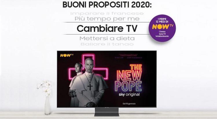 Acquista un TV Samsung e ricevi 12 mesi di NOW TV come premio certo