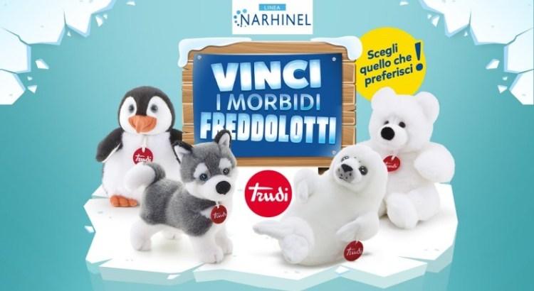 Concorso Narhinel vinci peluche Freddolotti