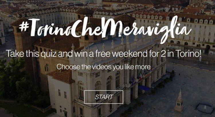 #TorinoCheMeraviglia: vinci gratis un weekend a Torino
